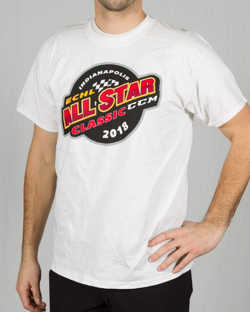 White All Star Tee