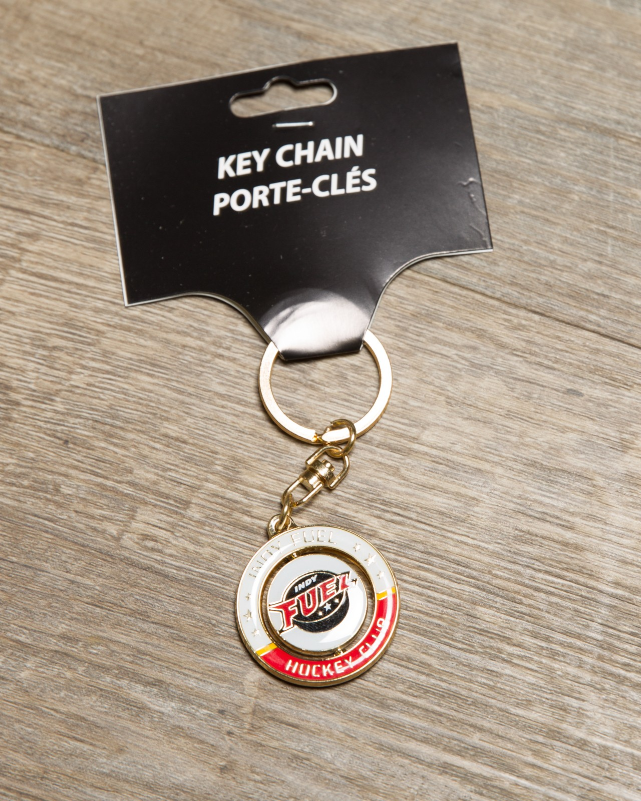 Fuel Spinner Keychain