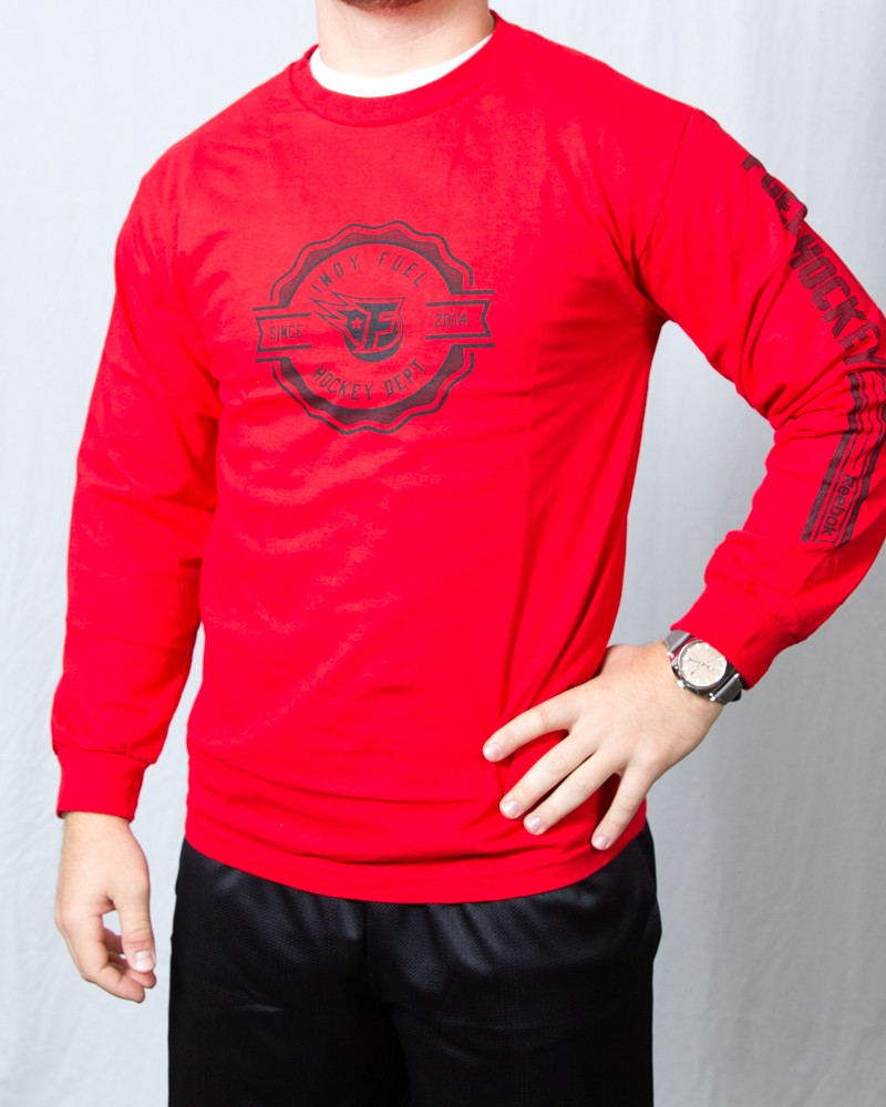 Red Icon Long Sleeve