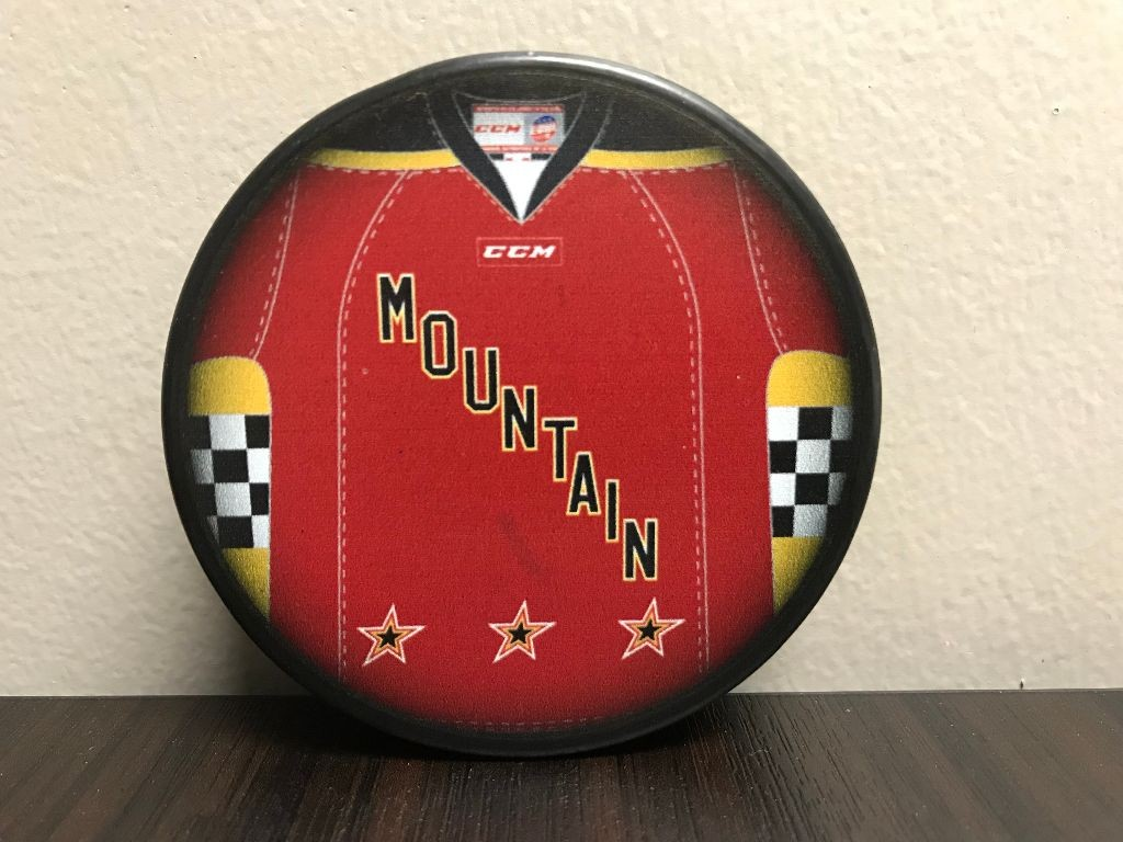 ECHL Mountain All Star Puck