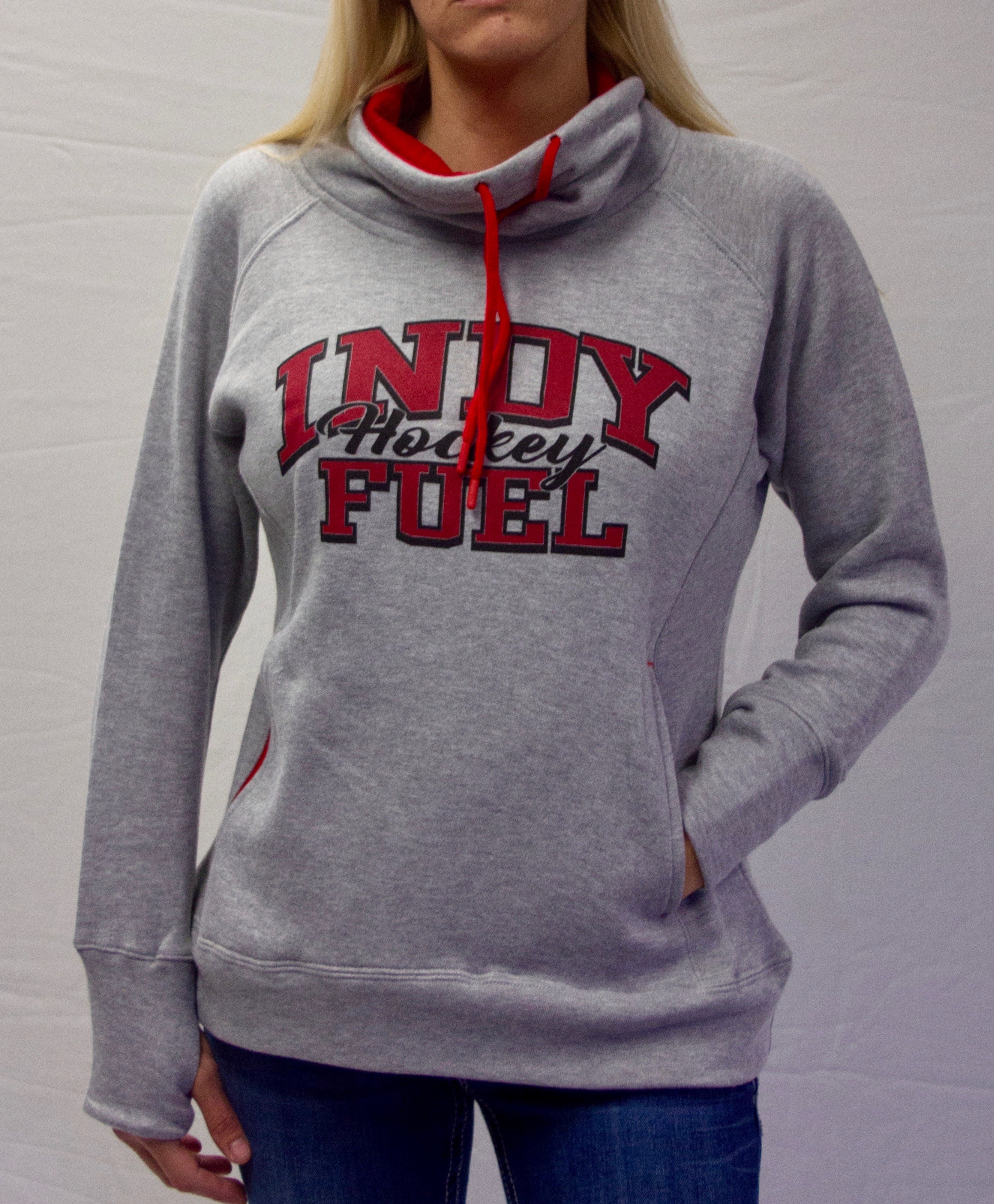 Womens Fleece Funnel Neck