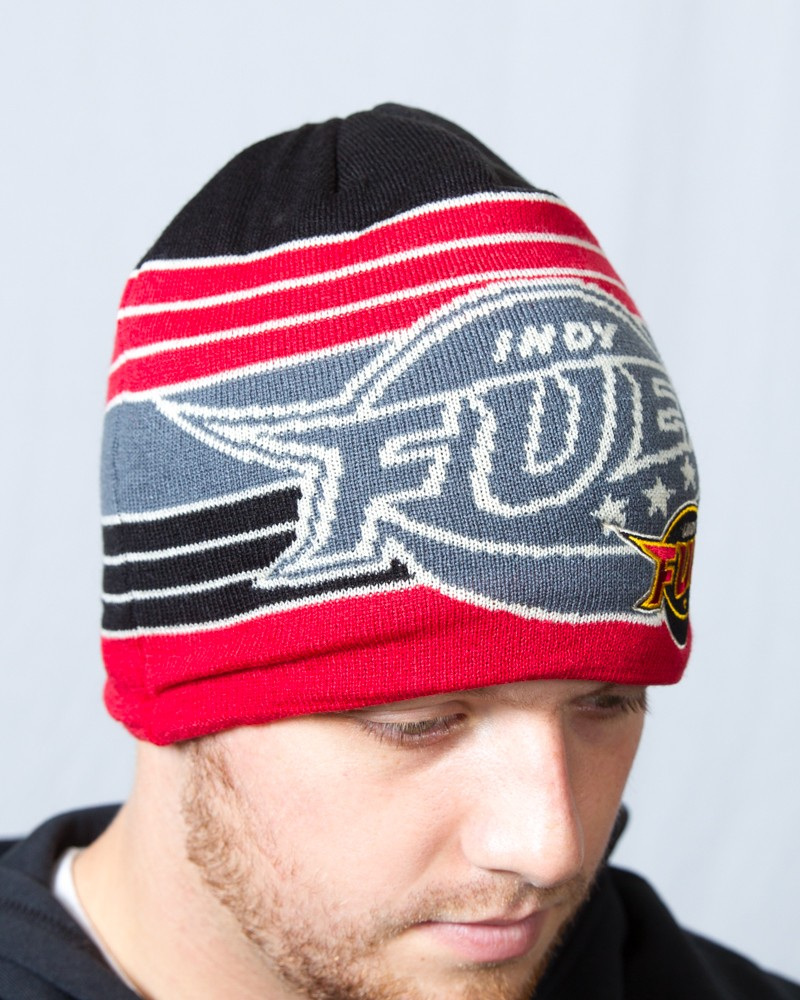 os cuffless oversized logo knit clearance indy fuel