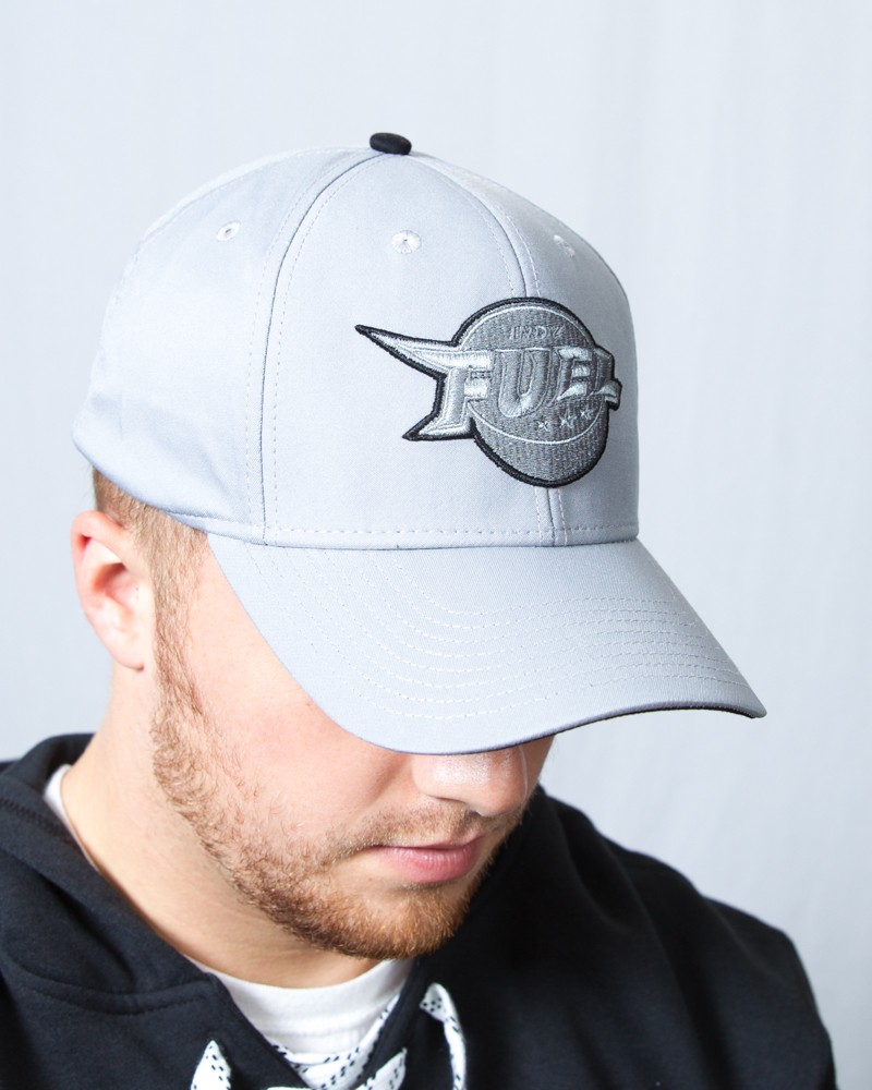 Tonal Grey Structured Flex Cap